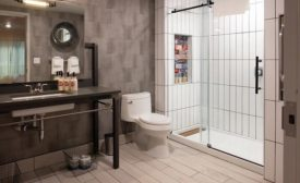 Shower Niche Custom Tiles. PHOTOS COURTESY OF imagine tile