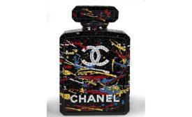 TILE Web Exclusive Chanel Mosaic Perfume Bottle