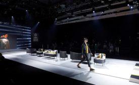 Pablo Erroz Gayafores catwalk at Madrid Fashion Week 1