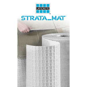 Strata Mat By Laticrete 2014 01 07 Tile Magazine
