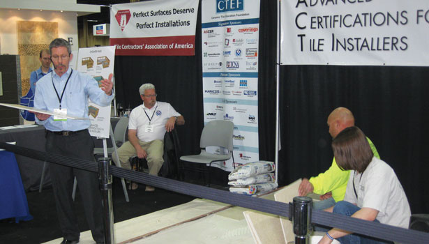 Advanced Certifications for Tile Installers