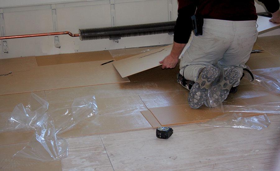 Acoustically Correct Floor