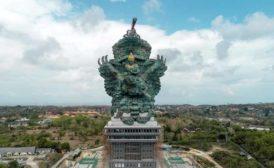 Garuda Wisnu statue in Bali, Indonesia