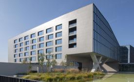 Protagonists-Fastweb building facade