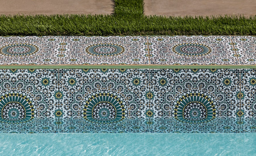 handpainted tiles from Arto Brick