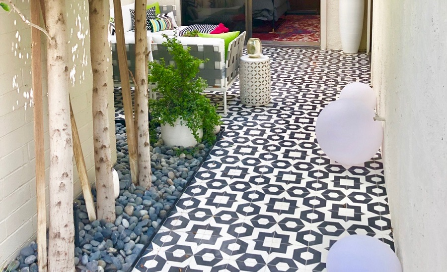 Tesselle's Dekko cement tile series